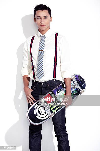 Nyjah Huston Pictures and Photos - Getty Images