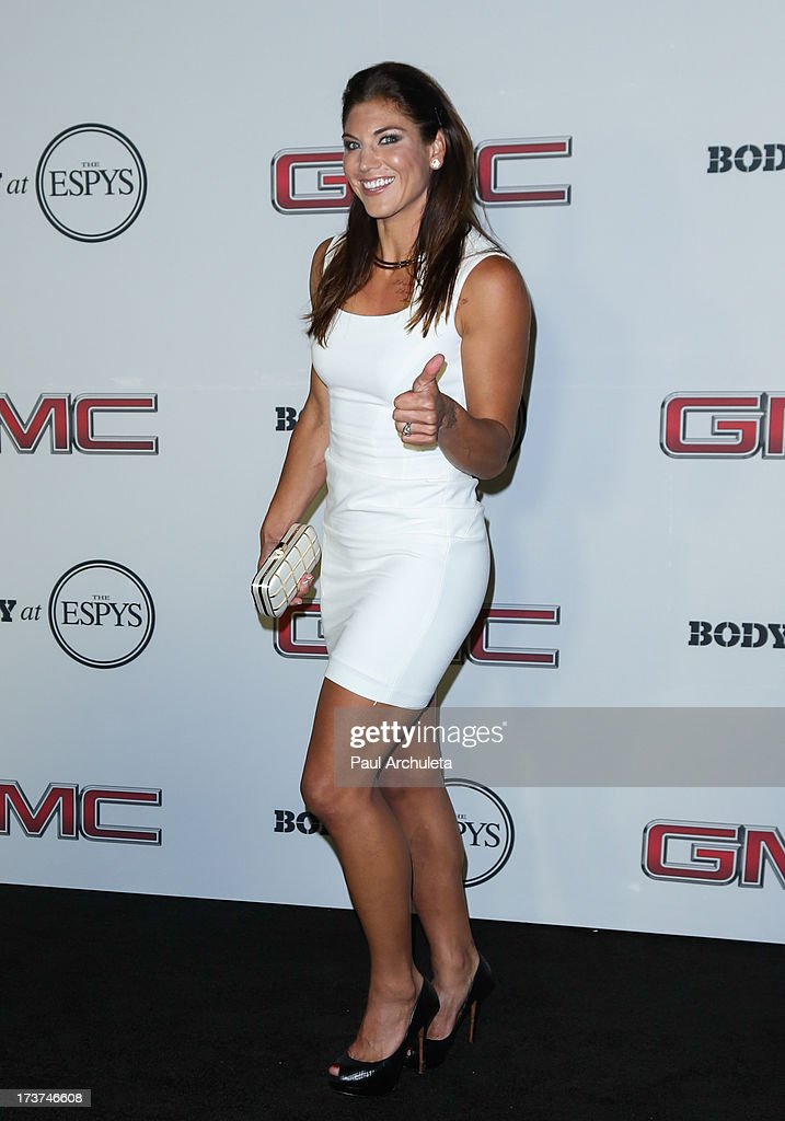 Pro Soccer Player Hope Solo attends the ESPN's 5th Annual Body At ESPYS at Lure on July 16, 2013 in Hollywood, California.