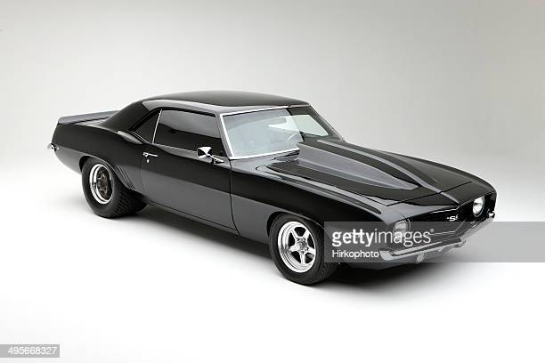 pro stock racer angle shot - camaro stock photos and pictures