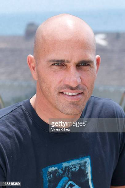 Pro surfer Kelly Slater attends Kelly Slater And Daphne's California Greek Launch Next Generation Of Surf Stars on July 6 2011 at Daphne's CEO Bill...