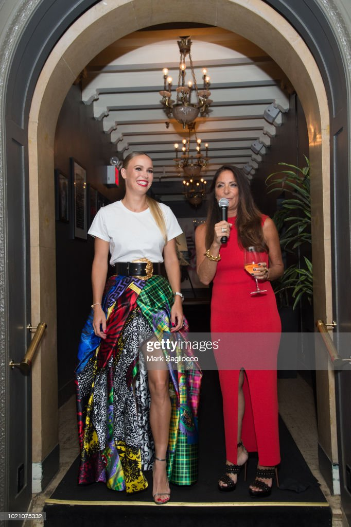 Hamptons Magazine Celebrates With Caroline Wozniacki, Presented By Matthew Breitenbach Of Compass Real Estate : News Photo