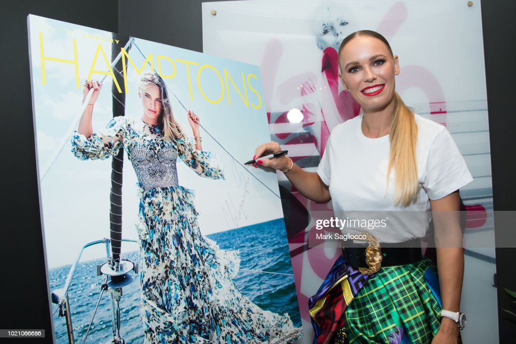 Hamptons Magazine Celebrates With Caroline Wozniacki, Presented By Matthew Breitenbach Of Compass Real Estate