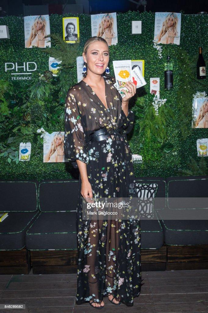 Hamptons Magazine Celebrates With Cover Star Maria Sharapova : News Photo