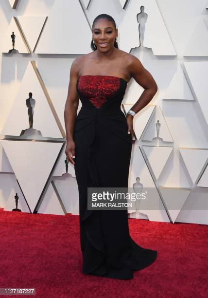 Pro tennis player Serena Williams arrives for the 91st Annual Academy Awards at the Dolby Theatre in Hollywood, California on February 24, 2019.