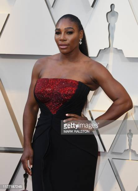 Pro tennis player Serena Williams arrives for the 91st Annual Academy Awards at the Dolby Theatre in Hollywood California on February 24 2019