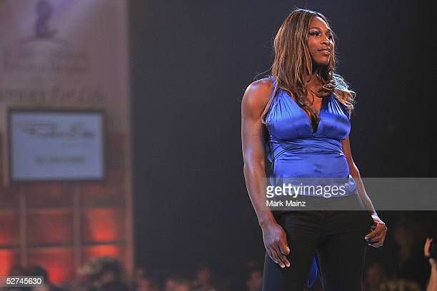 """Pro Tennis player Serena Williams attends the """"3rd Annual Runway for Life Benefiting St. Jude Children?s Research Hospital and Celebrating the DVD..."""