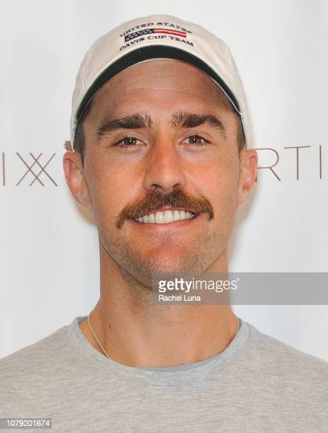 Pro tennis player Steve Johnson attends the 2nd Annual LA Tennis Bash hosted by the Manhattan Country Club And First Break Academy Foundation at...