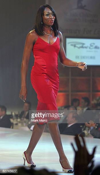"""Pro Tennis player Venus Williams attends the """"3rd Annual Runway for Life Benefiting St. Jude Children?s Research Hospital and Celebrating the DVD..."""