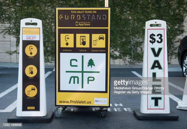 Pro Valet at The Camp in Costa Mesa is one of nine Orange County locations for the new cashless valet and tipping app INFO parking0415kjs Photo by...