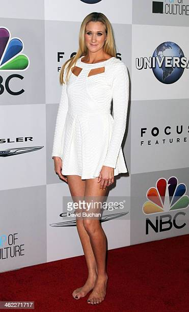 Pro Volleyball player Kerry Walsh Jennings attends the NBC Universal's 71st Annual Golden Globe Awards After Party at The Beverly Hilton Hotel on...