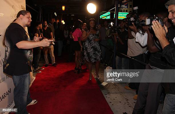 Pro wrestler/ actor/ author Brimstone attends Darrelle Revis' birthday party at Greenhouse on July 28 2009 in New York City