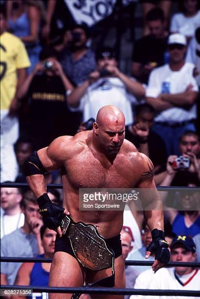 Pro wrestler Bill Goldberg
