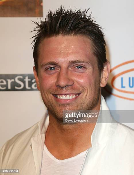 Pro wrestler Mike 'The Miz' Mizanin attends the Stars Get Lucky For Lupus 6th Annual Poker Tournament at Avalon on September 18 2014 in Hollywood...