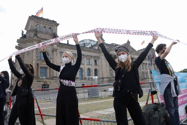 DEU: Pro-Abortion Activists Protest Against Paragraph 218
