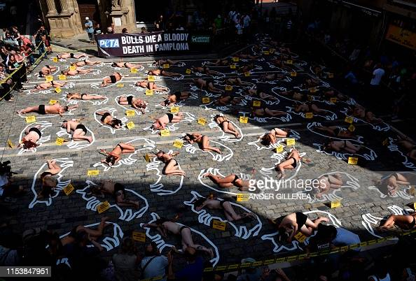IMG PAMPLONA PROTESTS