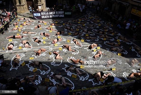 IMG PAMPLONA PROTESTS
