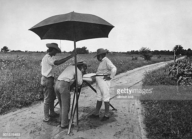probably South America land surveying undated probably around 1910 Photographer FranzOttoKoch