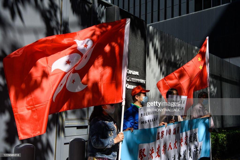 HONG KONG-CHINA-POLITICS : News Photo