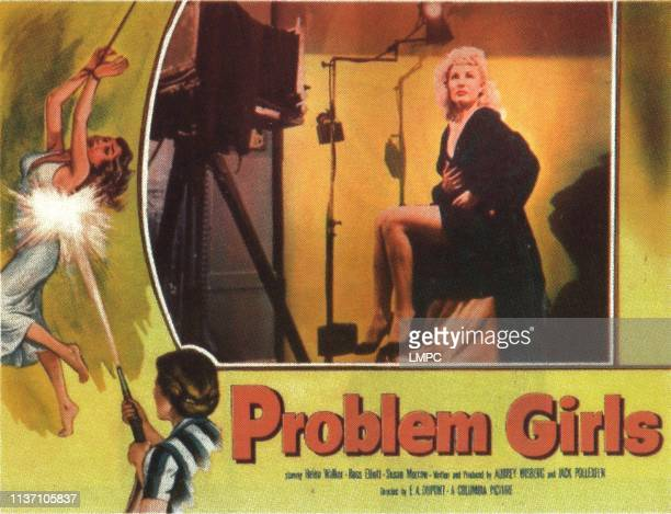 Problem Girls lobbycard Susan Morrow Joyce Jameson 1953