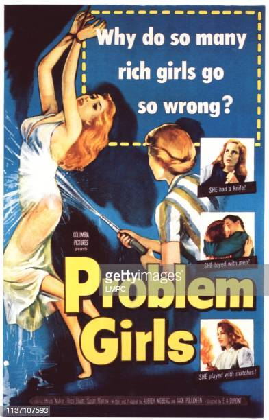 Problem Girls poster Susan Morrow Joyce Jameson 1953