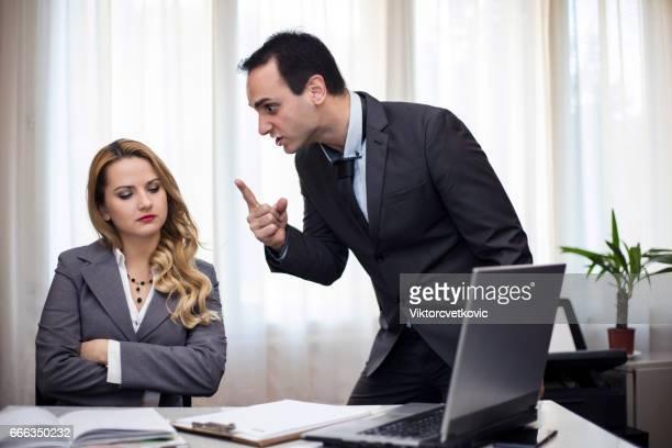 Problem mit Kollegen bei der Arbeit