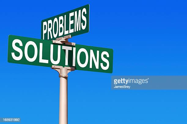 Problems and Solutions Street Sign