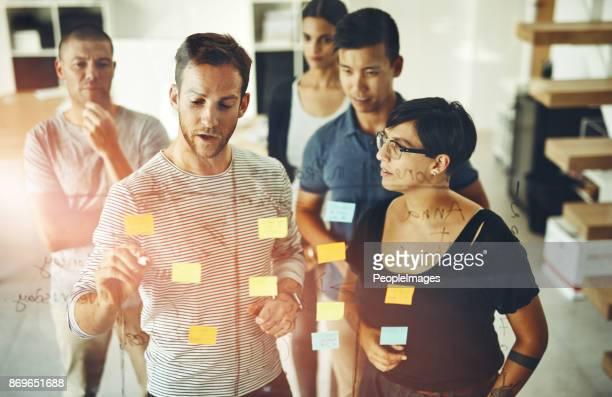 Problemlösungs-beinhaltet Kommunikation, die transparent ist