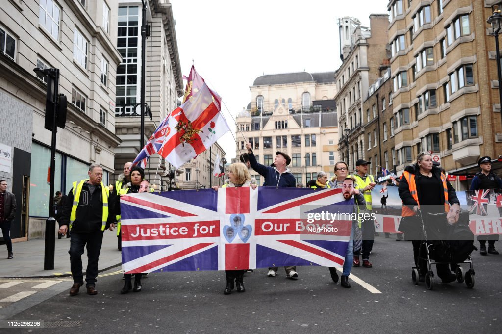 GBR: Pro-Brexit 'Yellow Vest' Activists Clash With Police In London
