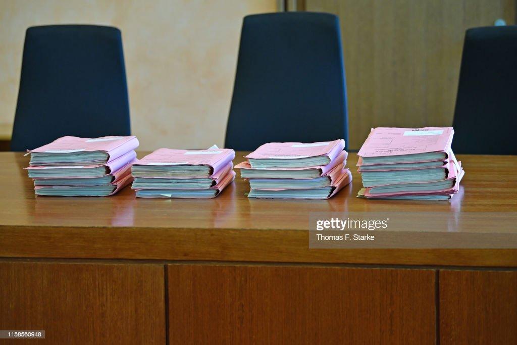 Lügde Child Abuse Trial Begins : News Photo