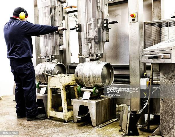 Traitement de bière vides kegs
