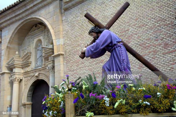 procession of holy week of calanda - holy week stock pictures, royalty-free photos & images