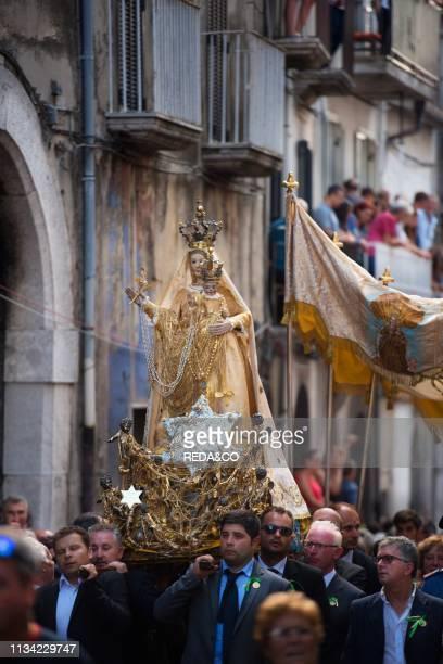Procession of the Madonna dell'Assunta Guardia Sanframondi Benevento Campania Italy