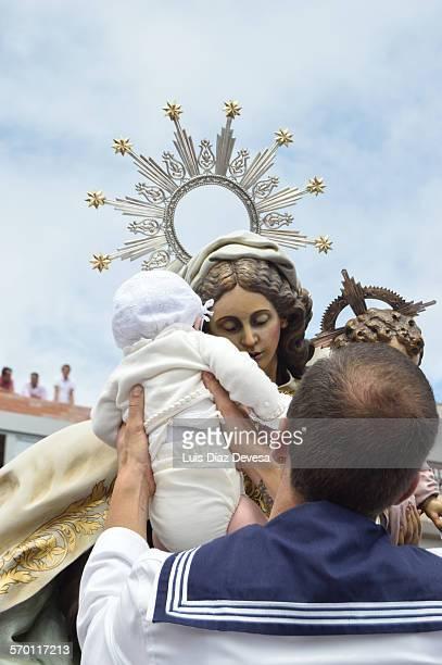 Procession of the Virgen del Carmen
