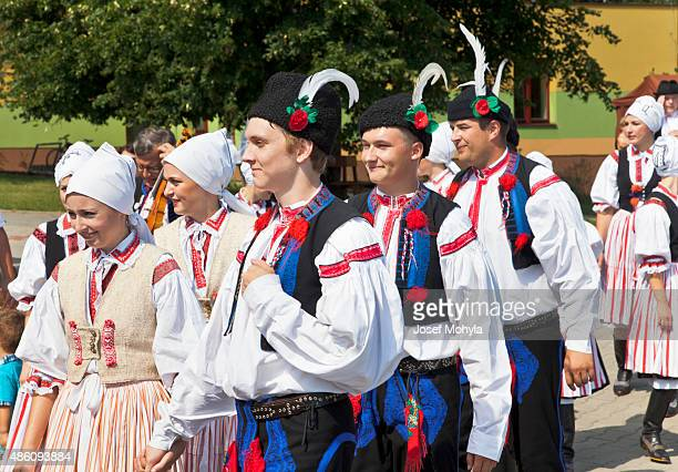 procession on the feast of wine - traditional dancing stock pictures, royalty-free photos & images