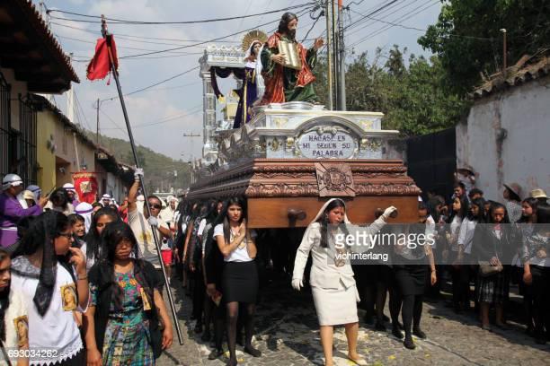 Procession, Palm Sunday, April 9, 2017