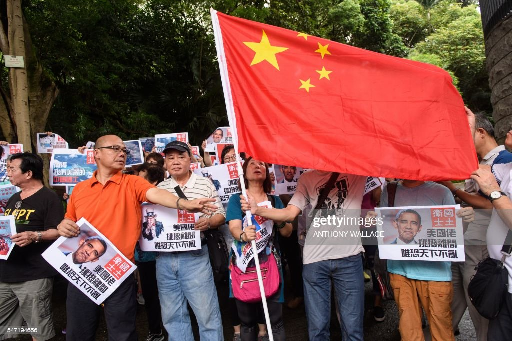 HONG KONG-CHINA-US-POLITICS-MARITIME : News Photo