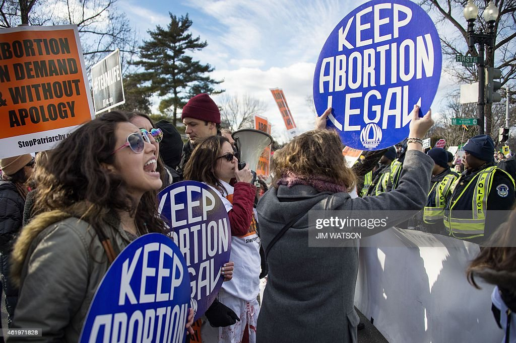 US-POLITICS-MARCH FOR LIFE : News Photo