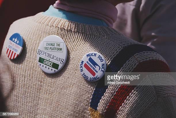 Pro-choice rally in Washington, DC, 5th April 1992.