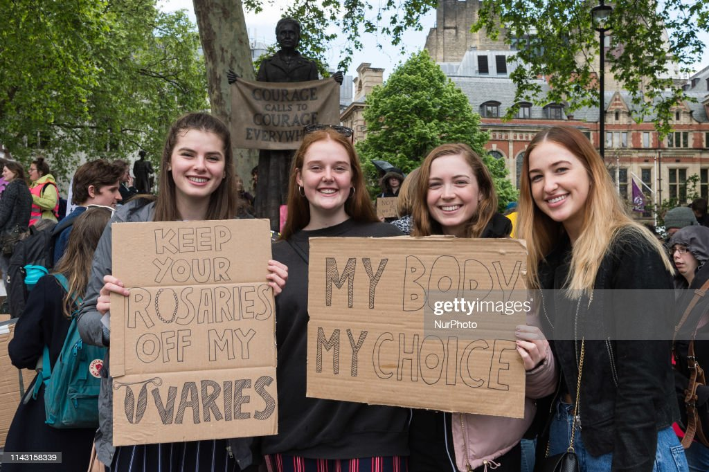 Pro-Choice Demonstration In London : News Photo