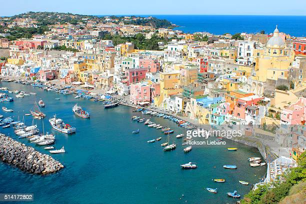 procida, italy - napoli stock pictures, royalty-free photos & images