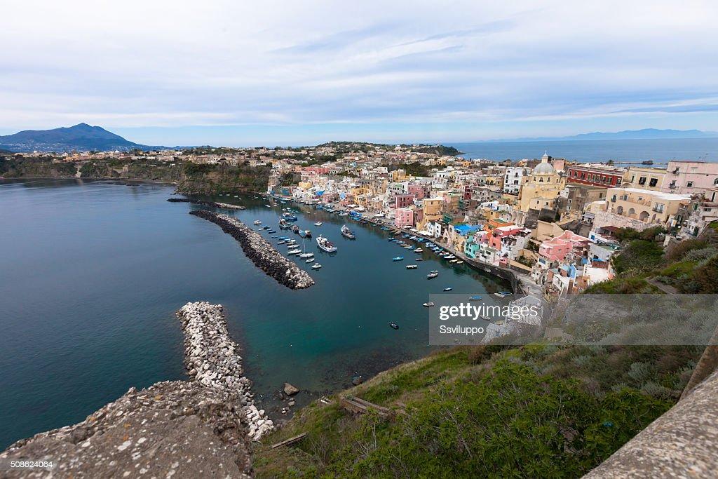 Procida,seaview, Italy : Stock Photo