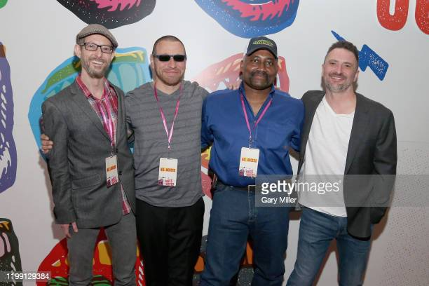 Proclaim Justice Co-founder Jason Baldwin , exonerees Daniel Villegas, Tim Howard and Proclaim Justice Co-founder John Hardin attend the Voices For...