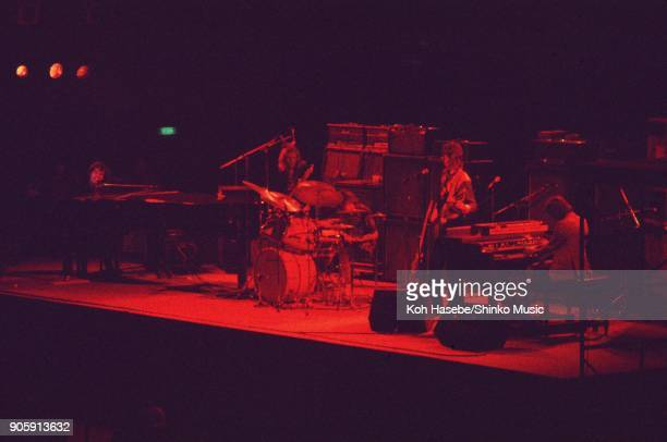 Procol Harum live at Nippon Budokan May 4 Tokyo Japan Gary Brooker Chris Copping Dave Ball Alan Cartwright BJWilson