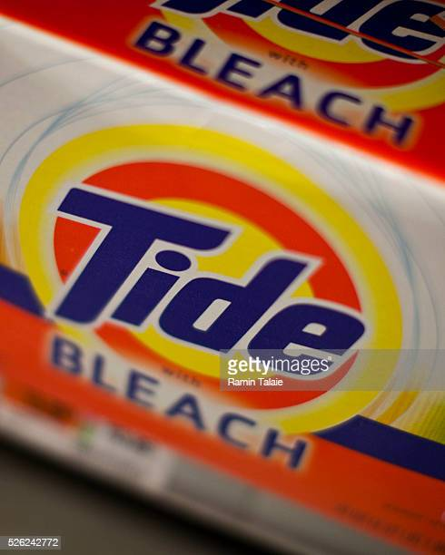 Procter Gamble Tide brand laundry detergent is displayed on the shelf at a supermarket in New York City on Tuesday August 3 2010 PG is the world's...