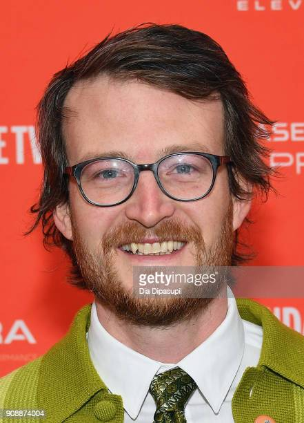 Prodcer Brian Morrow attends the 'Hal' Premiere during the 2018 Sundance Film Festival at The Marc Theatre on January 22 2018 in Park City Utah