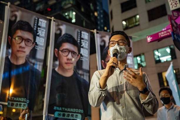 CHN: Pro-Democracy Activists Hold Primaries Ahead Of Hong Kong's Legislative Election