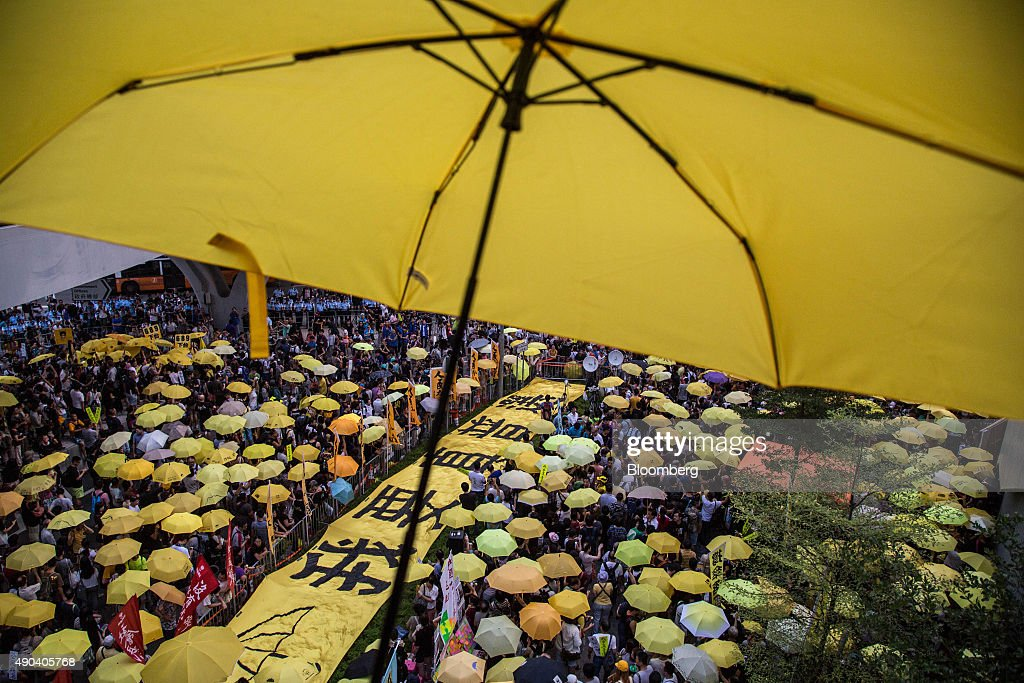 Anniversary of the Start of Hong Kong's Pro-Democracy Protests : News Photo