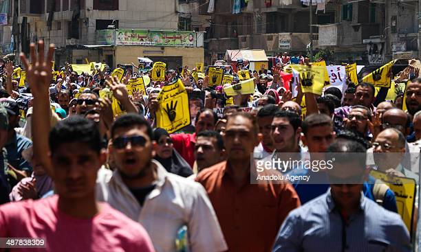2 prodemocracy demonstrators had been killed when security forces dispersed their rally in the west of the coastal city of Alexandria May 2 2014