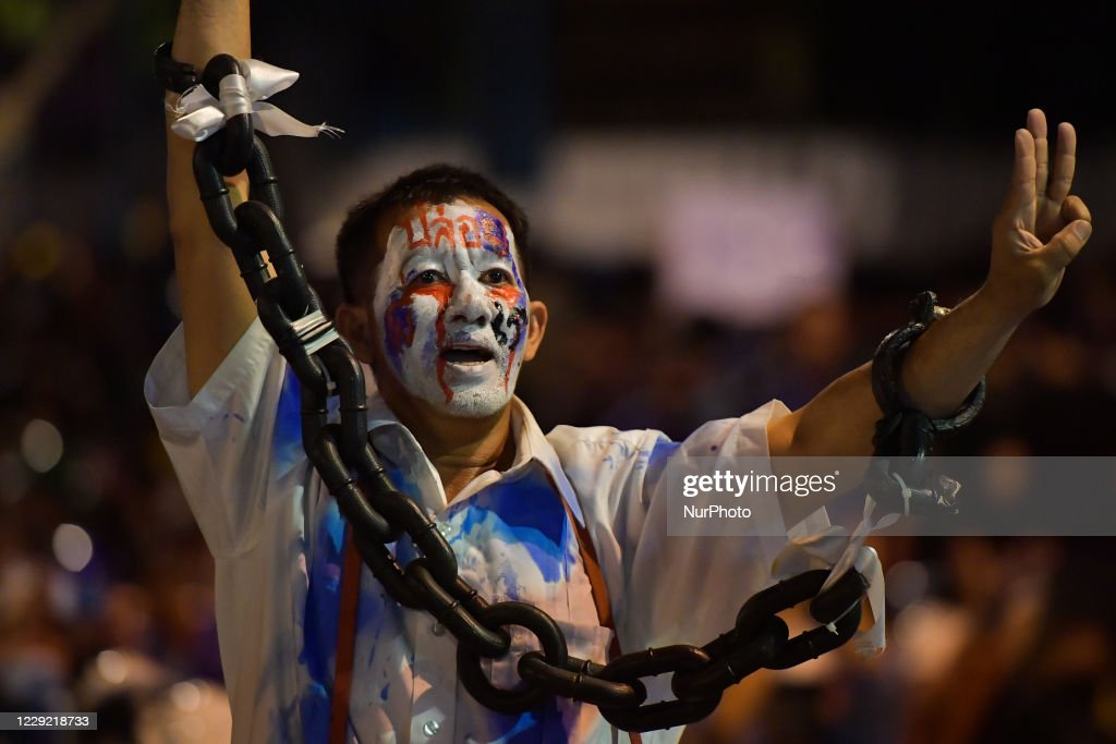 Pro-Democracy Protests Continue In Bangkok : News Photo