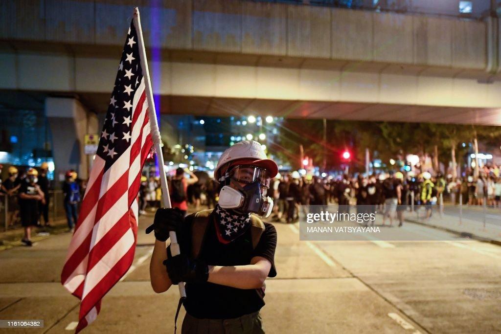 HONG KONG-CHINA-POLITICS-DEMO : Foto jornalística